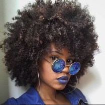 Cool Natural Hairstyles For African American Women19