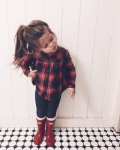 Cute Adorable Fall Outfits For Kids Ideas05