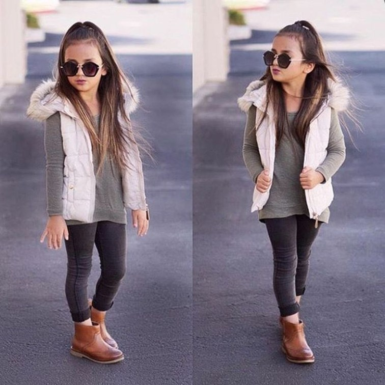 Cute Adorable Fall Outfits For Kids Ideas18