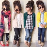 Cute Adorable Fall Outfits For Kids Ideas20