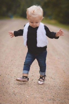 Cute Adorable Fall Outfits For Kids Ideas36