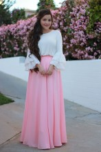 Cute Maxi Skirt Outfits To Impress Everybody22