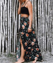Cute Maxi Skirt Outfits To Impress Everybody25