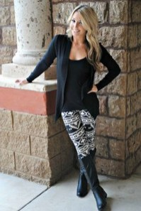 Cute Outfits Ideas With Leggings Suitable For Fall13