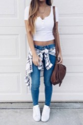 Easy And Cute Summer Outfits Ideas For School02