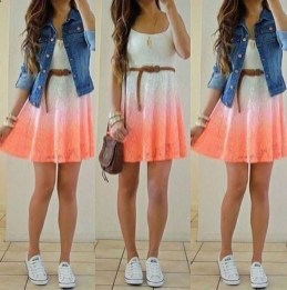 Easy And Cute Summer Outfits Ideas For School14