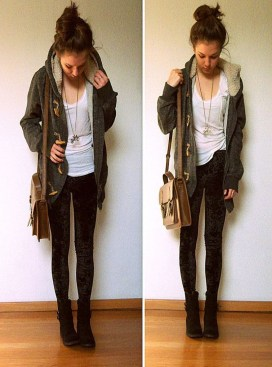 Easy And Cute Summer Outfits Ideas For School17