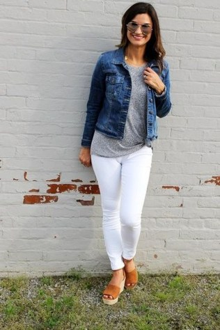 Easy And Cute Summer Outfits Ideas For School19