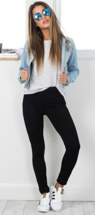 Easy And Cute Summer Outfits Ideas For School41