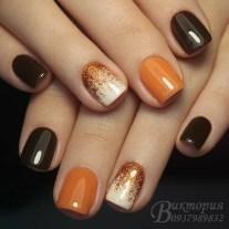 Eye Catching Fall Nails Art Design Inspirations Ideas05