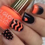 Eye Catching Fall Nails Art Design Inspirations Ideas17