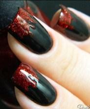 Eye Catching Fall Nails Art Design Inspirations Ideas19