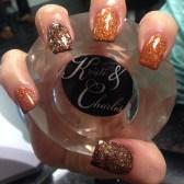 Eye Catching Fall Nails Art Design Inspirations Ideas40