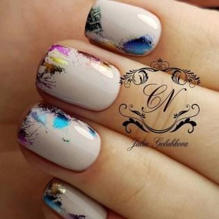 Eye Catching Fall Nails Art Design Inspirations Ideas50