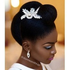 Gorgeous Wedding Hairstyles For Black Women13