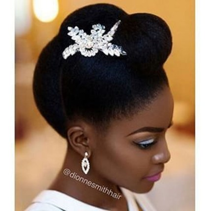 Gorgeous Wedding Hairstyles For Black Women13