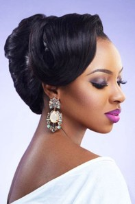 Gorgeous Wedding Hairstyles For Black Women18