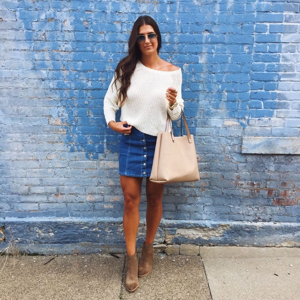 Modest But Classy Skirt Outfits Ideas Suitable For Fall09