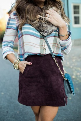 Modest But Classy Skirt Outfits Ideas Suitable For Fall25