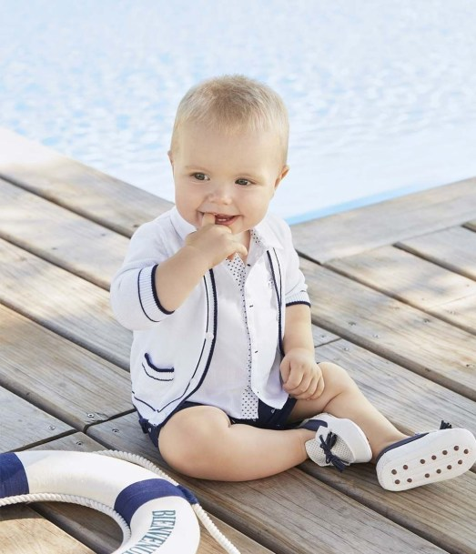 Most Popular Newborn Baby Boy Summer Outfits Ideas41