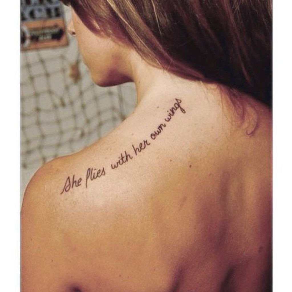 Simple But Meaningful Tattoo Ideas For Women41