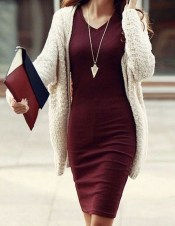 Stylish Work Dresses Inspirations Ideas To Wear This Fall29