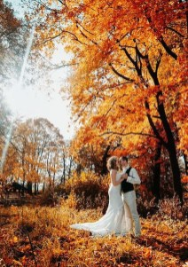 Awesome Outdoor Fall Wedding Tips Ideas20