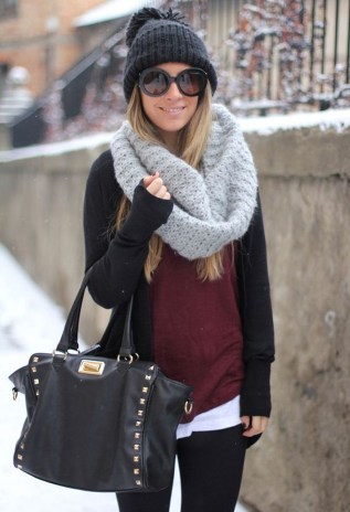 Cute Winter Outfits Ideas To Copy Right Now25