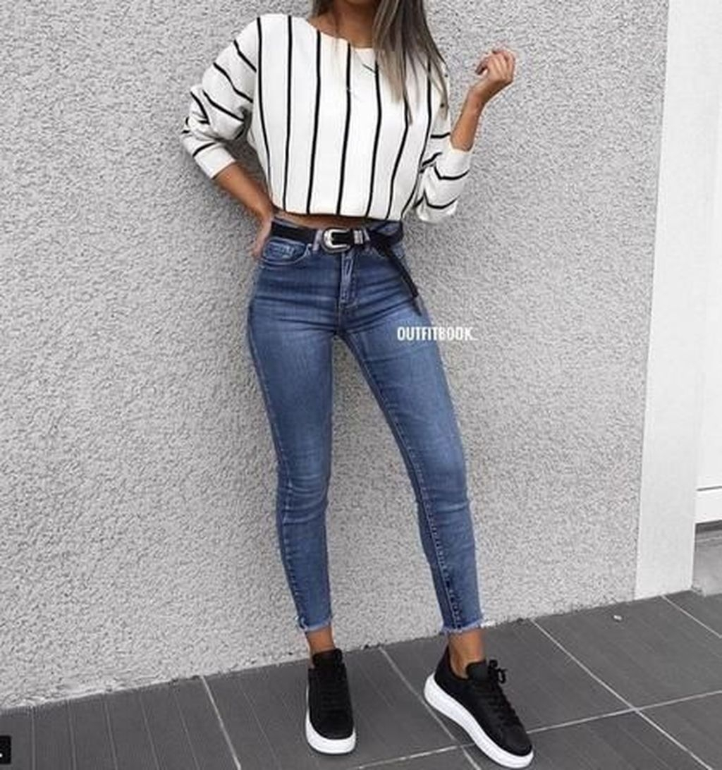 45 Fabulous and Fashionable School Outfit Ideas For College