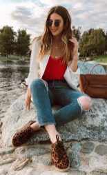 Fabulous And Fashionable School Outfit Ideas For College Girls09
