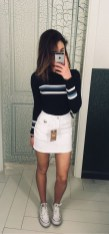 Fabulous And Fashionable School Outfit Ideas For College Girls42