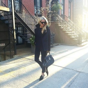 Magnificient Summer Outfit Ideas With Black Flats15