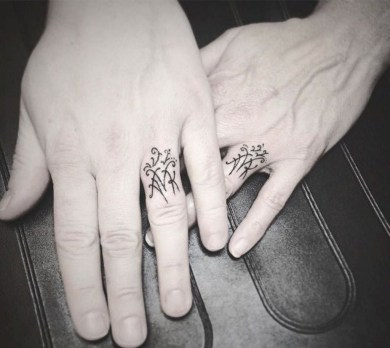 Perfect Wedding Tattoo Ideas31