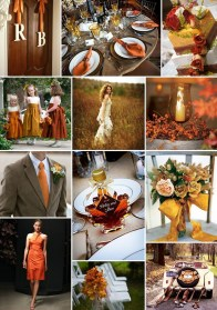 Popular Fall Wedding Color Trends Ideas01