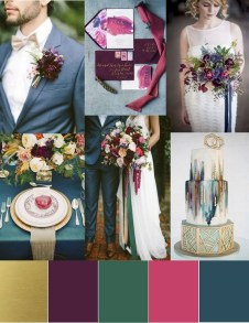 Popular Fall Wedding Color Trends Ideas14