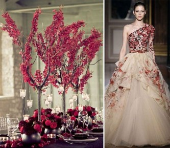 Popular Fall Wedding Color Trends Ideas19