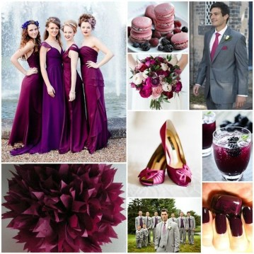 Popular Fall Wedding Color Trends Ideas25