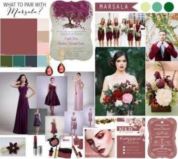 Popular Fall Wedding Color Trends Ideas27
