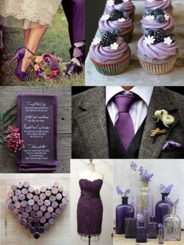 Popular Fall Wedding Color Trends Ideas38