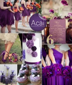 Popular Fall Wedding Color Trends Ideas40
