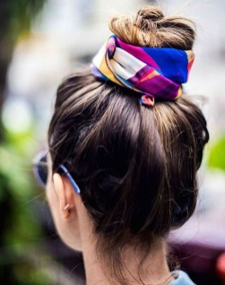 Wonderful Ways Wear Bun Fall Ideas19