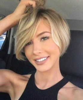 Awesome Haircuts Ideas For Round Face34