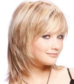 Awesome Haircuts Ideas For Round Face42