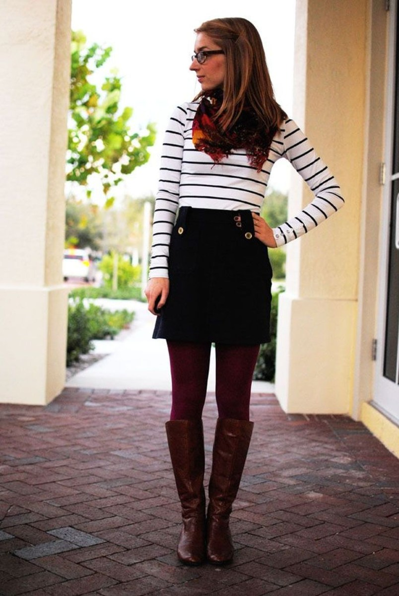 Charming Winter Outfits Ideas High Waisted Shorts25