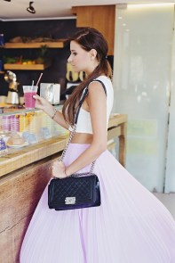 Fabulous Purple Outfit Ideas For Summer13