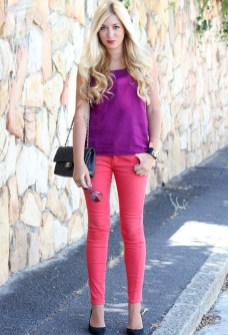 Fabulous Purple Outfit Ideas For Summer26