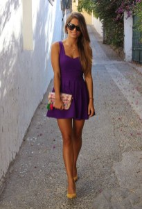 Fabulous Purple Outfit Ideas For Summer28