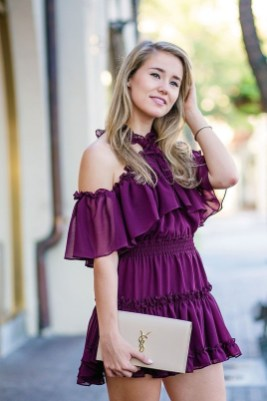 Fabulous Purple Outfit Ideas For Summer33