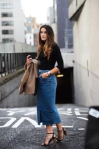 Fancy Winter Outfits Ideas Jean Skirts30