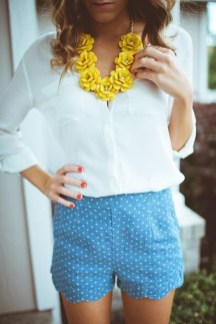 Fascinating Scalloped Clothing Ideas For Summer Outfits12